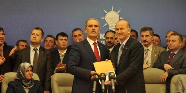 Bursa Büyükşehir Belediye Başkani Altepe, Adaylik Başvurusu Yapti