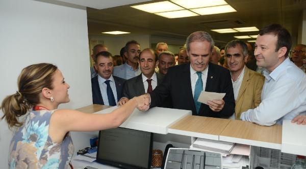 Bursa Büyükşehir Belediye Başkanı Altepe'den Başbakan Erdoğan'a 9 Bin Liralık Destek