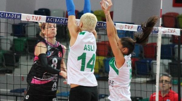 Bursa Büyükşehir Belediyesi-Konya Ereğli : 3-0