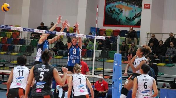 Bursa Büyükşehir Belediyespor-Rocheville Le Cannet Bayanlar Cev Challenge Cup (Fotoğraflar)
