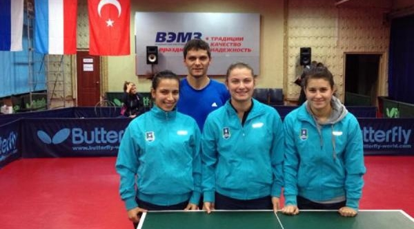 Bursa Büyükşehir Masa Tenisi'nde Avrupa Sinavi Yarin Fransa'da Başliyor