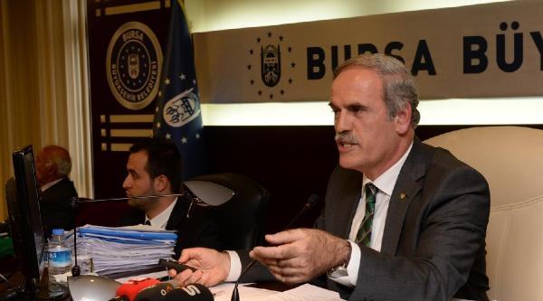 Bursa Büyükşehir Meclisi'nde Bursaspor'a Destek