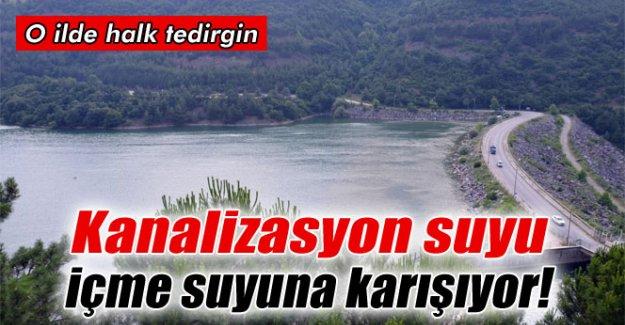 Bursa'da kanalizasyon suyu içme suyuna karışıyor