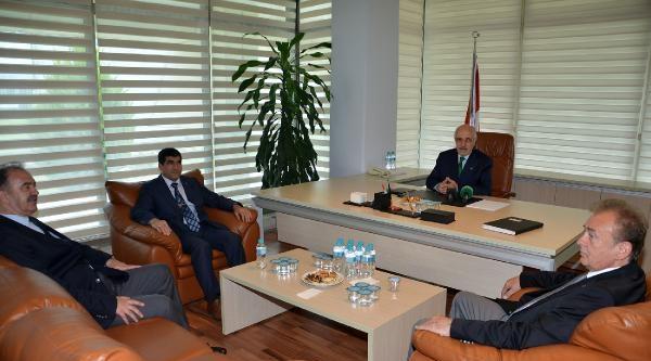 Bursa Emniyet Müdürü'nden Bursaspor'a Ziyaret