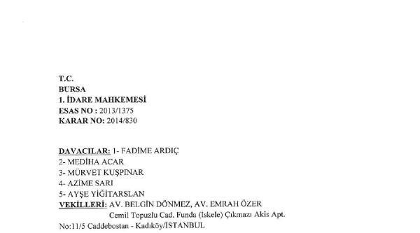 Bursa Şehir Hastanesi Arazisi Tahsisine İptal Kararı
