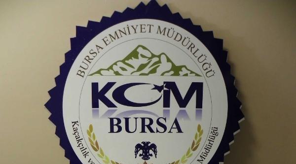 Bursa'da 100 Bin Lira Değerinde Ecstacy  Hap Ele Geçirildi