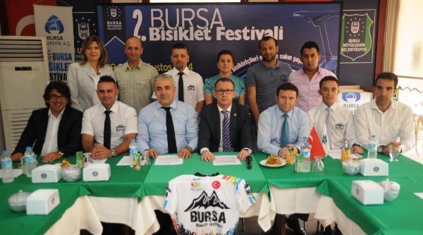 Bursa'da 2'nci Bisiklet Festivali Başlıyor