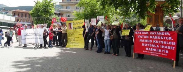 Bursa'da 80'inci Sessiz Çiğlik Eylemi