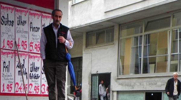 Bursa'da Cadde Ve Sokaklar Sular Altında Kaldı
