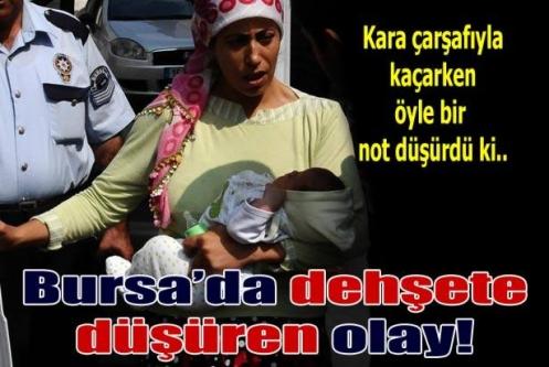 Bursa'da dehşet yaratan olay
