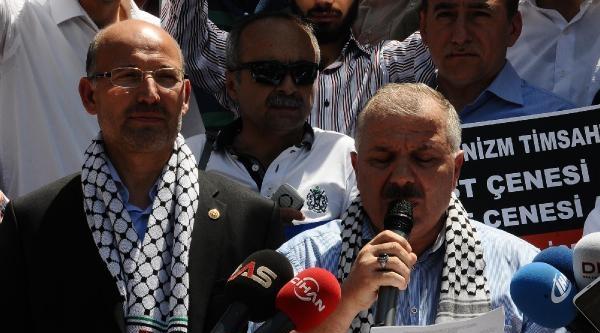 Bursa'da Gazze Protestosu