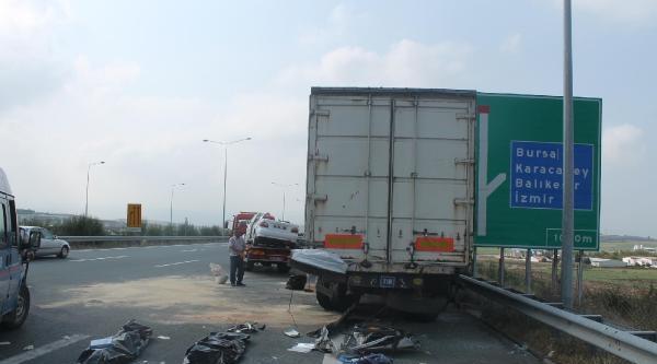 Bursa'da Kaza: 3 Ölü, 2 Yaralı