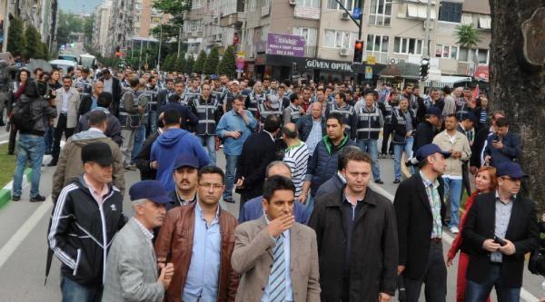 Bursa'da Olaysız Gezi Parkı Anması