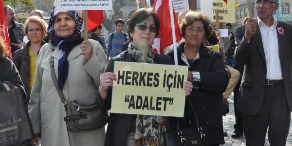 Bursa'da 'sessiz Çiğlik' Eylemi