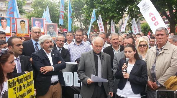Bursa'da Soma Protestosu