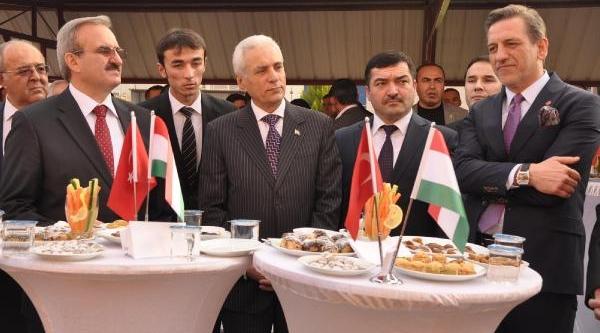 Bursa'Da Tacikistan Fahri Konsolosluğu Açildi