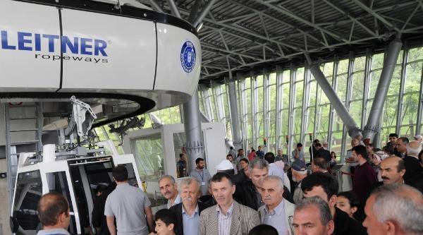 Bursa'da Teleferik Yeniden Seferlere Başladı