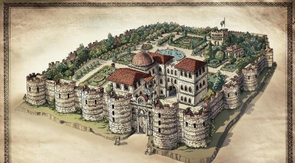 Bursa'daki Bey Sarayı Ayağa Kaldırılacak