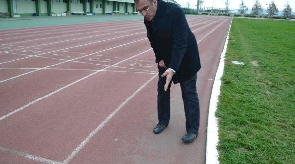 Bursa'Daki Spor Tesislerinde Inceleme