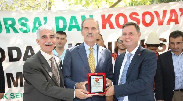 Bursa'dan Kosova'ya Anlamlı Yardım