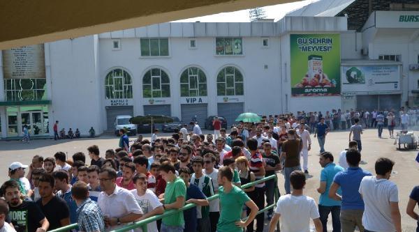 Bursaspor-chikhura Biletlerine Yoğun İlgi