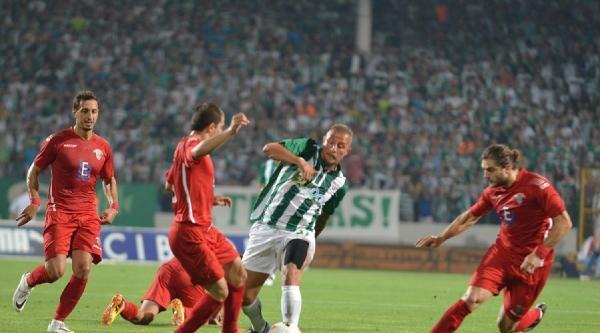 Bursaspor- Chıkhura Sachkhere Maçı Fotoğrafları
