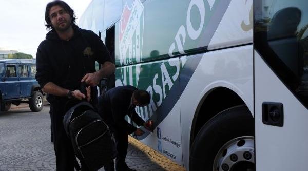 Bursaspor Devre Arasi Kampi Için Antalya'ya Geldi