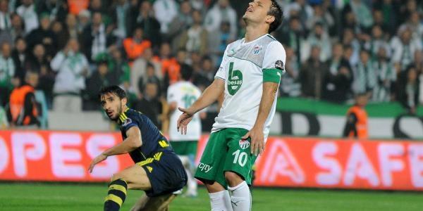 Bursaspor-Fenerbahçe Maçi Ek Fotoğraflari