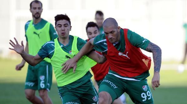 Bursaspor Gol Çalişmasi Yaptı