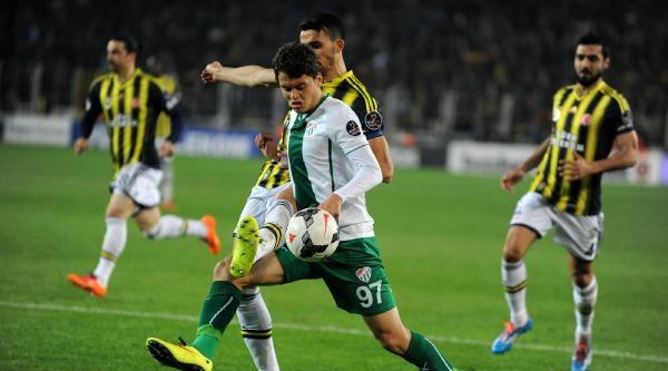 Bursaspor İstanbul Takımlarını Yenemedi