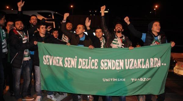 Bursaspor Kafilesi, Trabzon'da