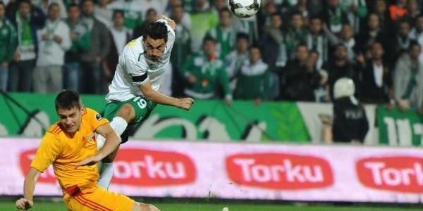 Bursaspor-Kayserispor Maçi Ek Fotoğraflari