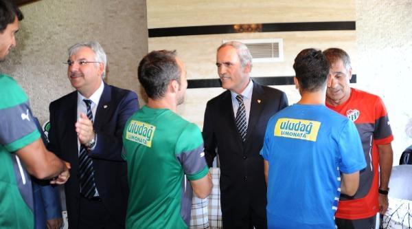 Bursaspor Kulübü Başkanı Bölükbaşı: Hoşgörü İstiyorum