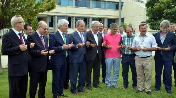 Bursaspor Özlüce Tesisleri'nde Kurban Kesti