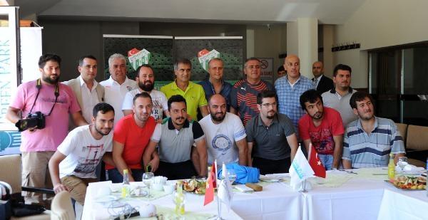 Bursaspor-şenol Güneş Gazetecilerle Sohbet Etti