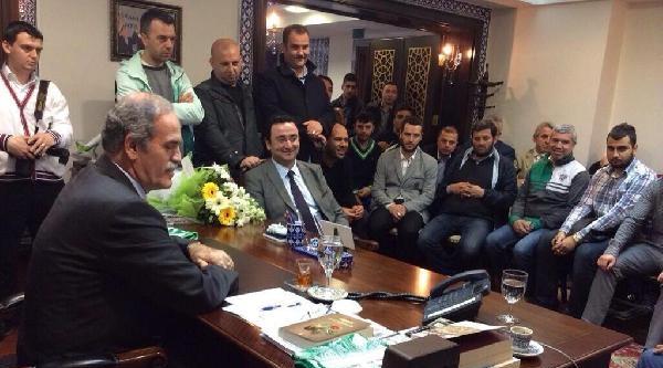 Bursaspor Taraftarından Altepe'ye Ziyaret