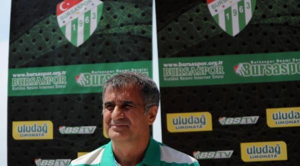 Bursaspor Teknik Direktörü Şenol Güneş Kartepe Kampını Değerlendirdi