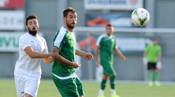 Bursaspor Yeşil Bursa İle Özel Maç Yaptı