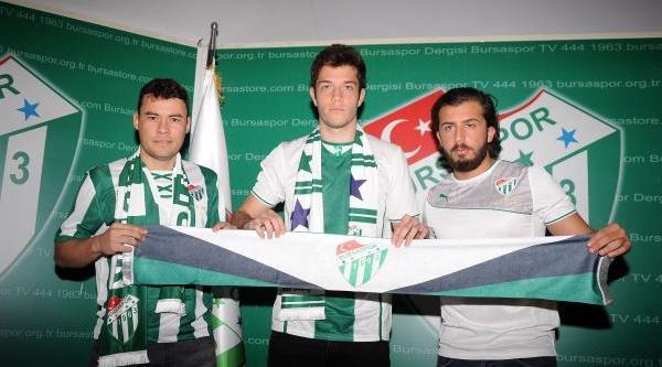 Bursaspor'da 3 Imza Serdar Aziz Sözleşmesini Uzatti