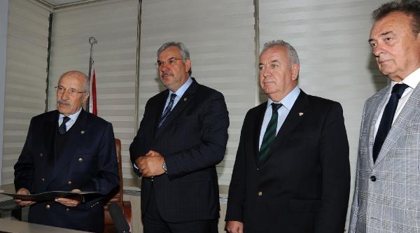 Bursaspor'da 3'üncü Başkan Adayı Bölükbaşı