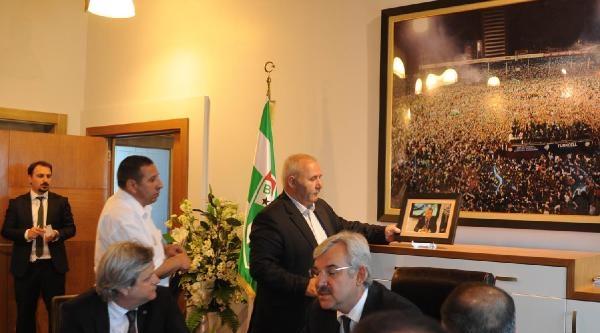 Bursaspor'da Bölükbaşı Dönemi Başladı (fotoğrafları)