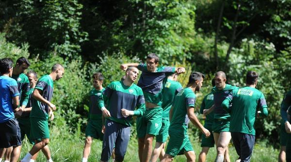 Bursaspor'da Çalişmalar Sürüyor