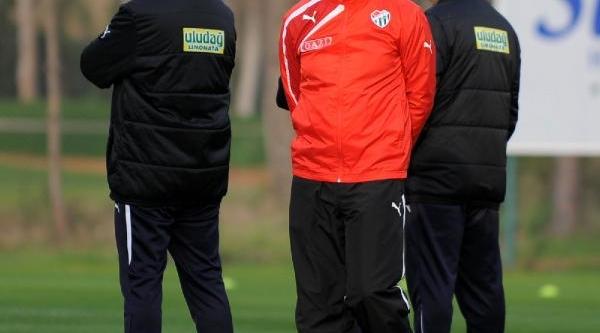 Bursaspor'da Hazırlıklar Sürüyor