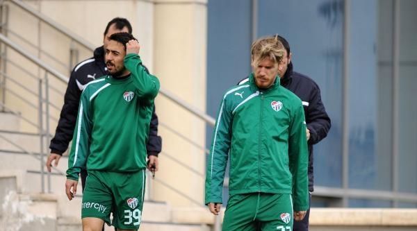 Bursaspor'da Kayserispor Maçı Hazırlıkları Sürüyor