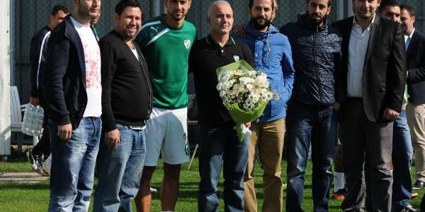 Bursaspor'da Önce Toplanti Sonra Antrenman
