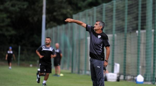 Bursaspor'da Taktik Antrenman