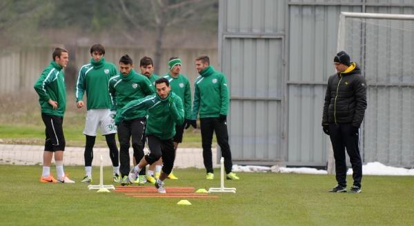 Bursaspor'da Trabzonspor'a Hazirlandi