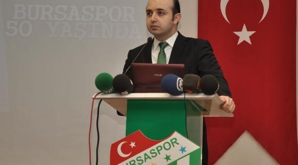 Bursaspor'da Yeni Tüzük Taslaği Tanitildi