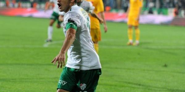 Bursasporlu Batalla'dan 50'nci Gol