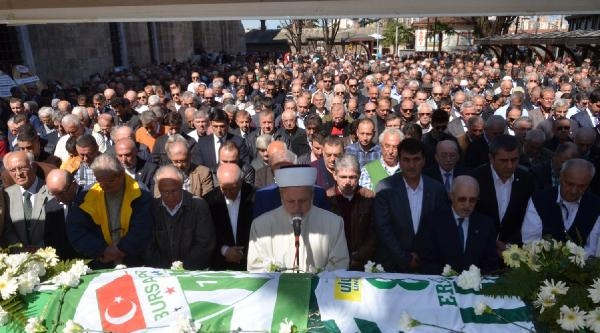 Bursasporlu Ersel Altıparmak Toprağa Verildi